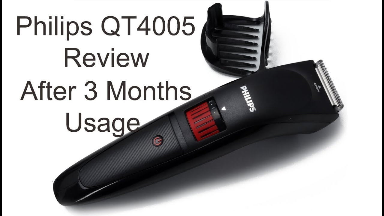 Philips QT4005 trimmer review after 3 months of usage - - PS Talk ... f873016f2bb