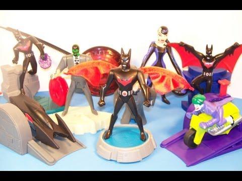 2000 BATMAN BEYOND SET OF 8 BURGER KING KID
