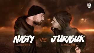 Rap Skillz - Rap Battle - Nasty VS Jurasick