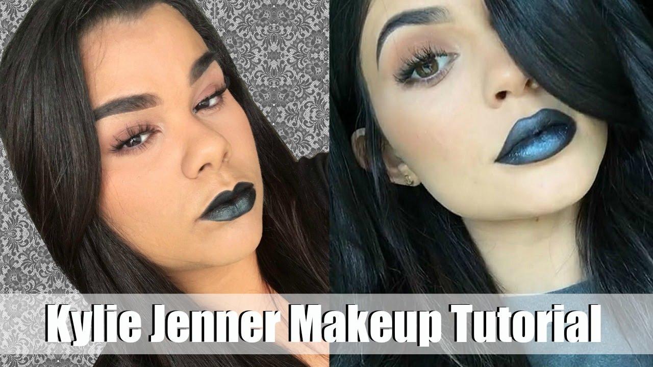 Diy Kylie Jenner Black Lipstick/ Elf Blush Palette First ...