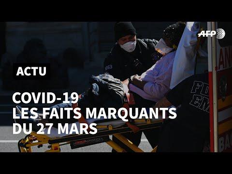 Covid-19: ce qu'il faut retenir du 27 mars | AFP