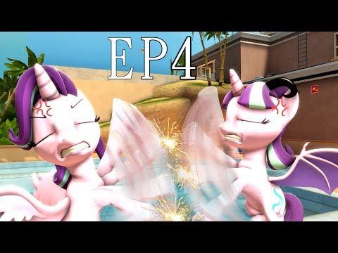 [Pony SFM] [EP4] Starlight VS Starlight --- Starlight Glimmer and Sunburst human world adventure
