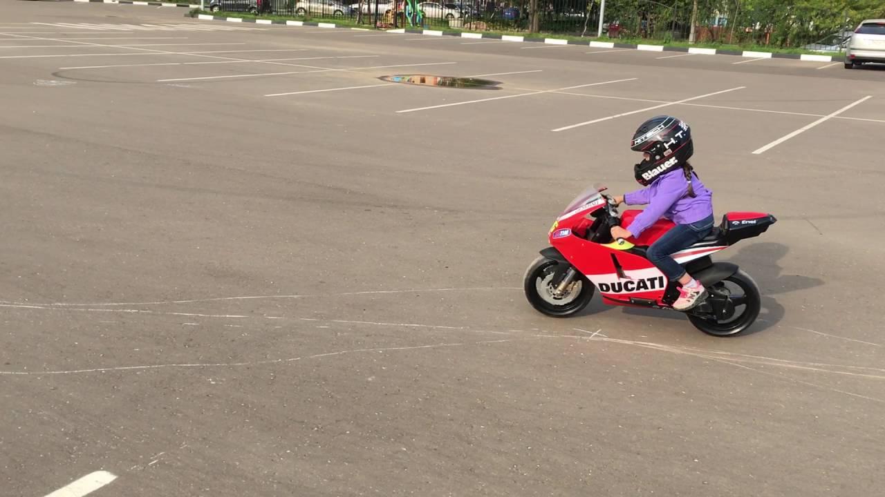 MotoGP moscow mini moto Ducati - YouTube