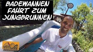 Badewannen-Fahrt zum Jungbrunnen POV Tripsdrill | Funfair Blog [HD]