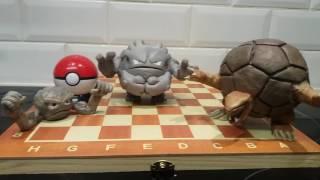 Clay Pokemon - Geodude - Graveler - Golem - Handmade Super Sculpey Showcase