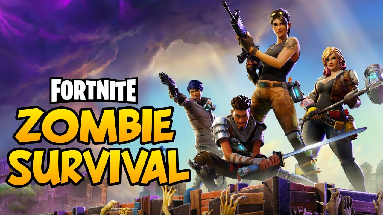 Fortnite new zombies base building defense crafting for Zombie crafting survival games