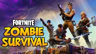 FORTNITE! NEW! - ZOMBIES, BASE BUILDING, DEFENSE, CRAFTING SURVIVAL! - Fortnite PC Gameplay #1