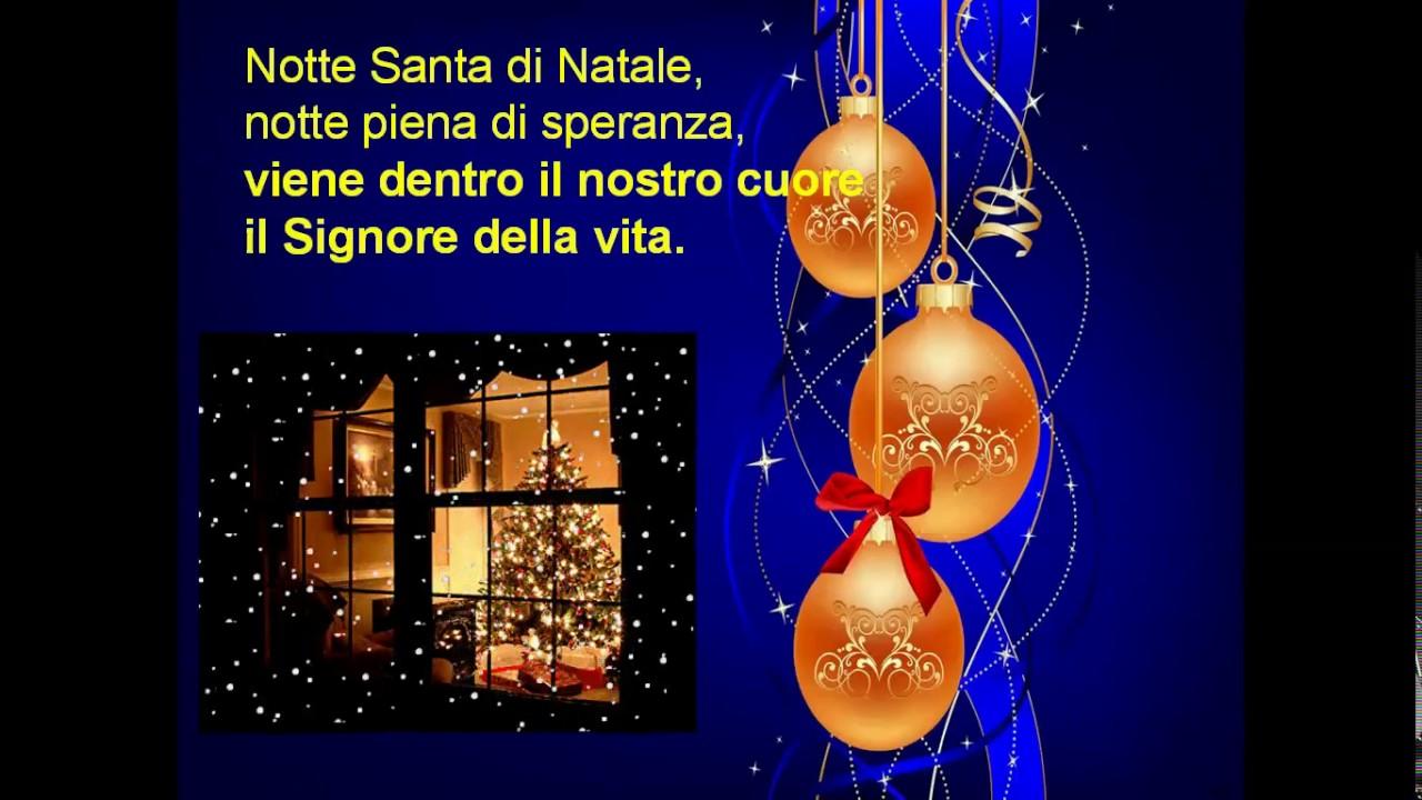 La Notte Di Natale.Notte Santa Di Natale
