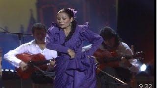"""María Guardia Gómez, la bailora de flamenco """"Mariquilla"""" por Alegrias (1990)"""
