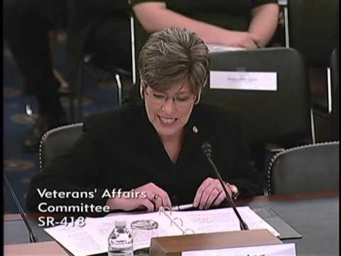 Sen. Ernst Discusses VETS Act Before Senate VA Committee