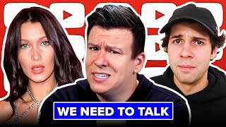 WE NEED TO TALK! David Dobrik, The Truth About the Israeli-Palestinian