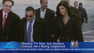 Reality TV Star Joe Giudice Denies He's Being Deported