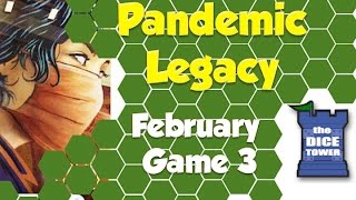 Pandemic Legacy Playthrough: February, Game 3 (SPOILERS)