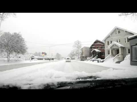 Post-snowpocalypse time-lapse drive to downtown...