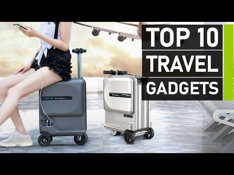 Top 10 Awesome Travel Gadgets & Accessories