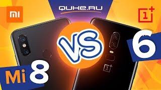 OnePlus 6 или Xiaomi Mi8 - что выбрать? / QUKE.RU /