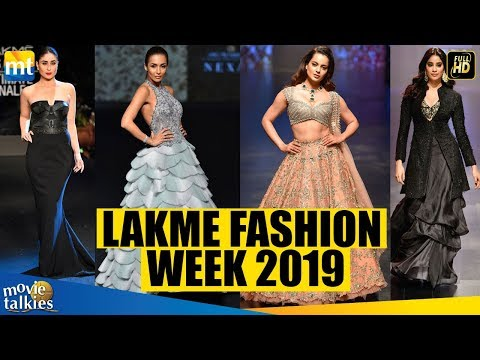 LAKME FASHION WEEK 2019 I Kareena,Kangana,Malaika,Janhvi & Other Celebs I Complete HD VIDEO