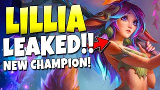 NEW CHAMPION LILLIA LEAKED!!! OUT SOON! + New Skins Coming - League of Legends