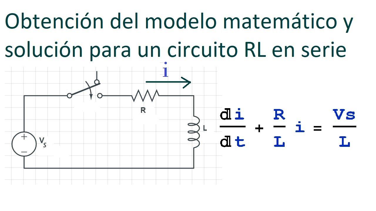 Circuito Rl : Modelado de circuitos rl en serie youtube