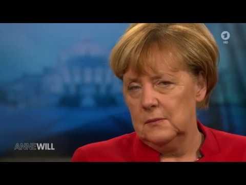 Interview : Kanzlerin Angela Merkel bei Anne Will am 20.11.2016