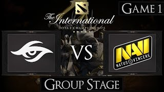 Dota 2 The International 2015 Team Secret vs Na'Vi