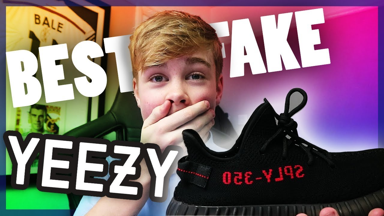 f9a3c9944d82 THE BEST  FAKE YEEZYS  OUT THERE!! (Fake Yeezy Unboxing Review ...