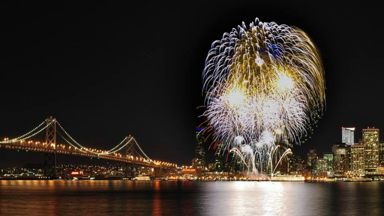 where are the fireworks in san francisco