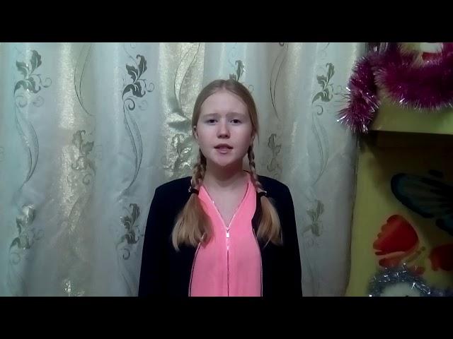 Изображение предпросмотра прочтения – АннаЗаболотных читает произведение «Девушка пела в церковном хоре» А.А.Блока