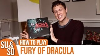 Fury of Dracula - How to Play