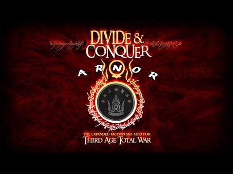 Third Age: Total War 3.2. DaC v3 Дунэдайн севера - 26. Осада Минас-Тирит и Чёрных Врат.