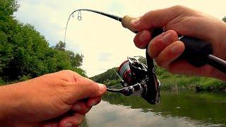 ЭТОТ ВОБЛЕР СОБЛАЗНИЛ ВСЕХ РЫБ НА РЕКЕ и принес пару трофеев!  Рыбалка на спиннинг!