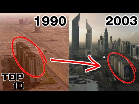 Top 10 Insane City Transformations