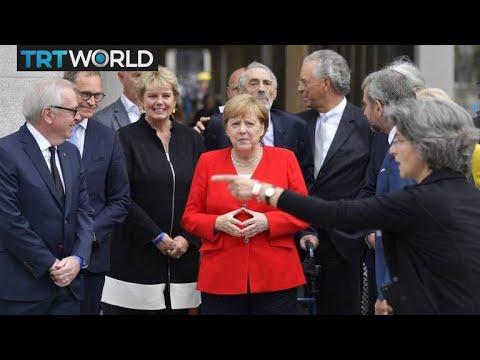 Germany's Political Future: Merkel's health fuels debate on power transfer