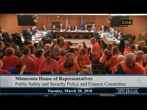 Crowd Chants After GOP Majority Refuses To Debate Gun Violence Prevention Bills In MN House