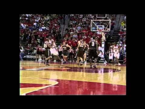 WYOMING COWBOYS VS. UNLV REBELS BASKETBALL 2003 HIGHLIGHTS