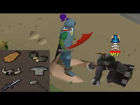 Pretending to be a noob pking (Everyone fell for it)