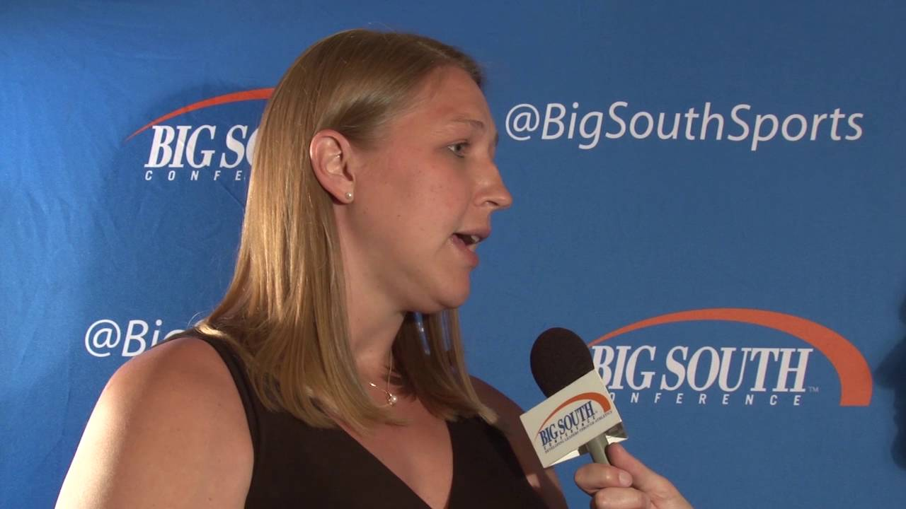 Katie (Feenstra) Mattera Inducted into Big South Hall of ...  Katie