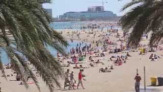 Пляжи Барселоны. Падай на хвост!