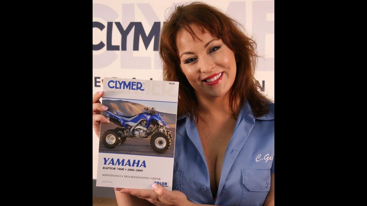 2009 Yamaha Raptor 700 Wiring Diagram Great Design Of Clymer Manual Video Sneak Peek For The 2006 700r Rh Youtube Com Wolverine Banshee