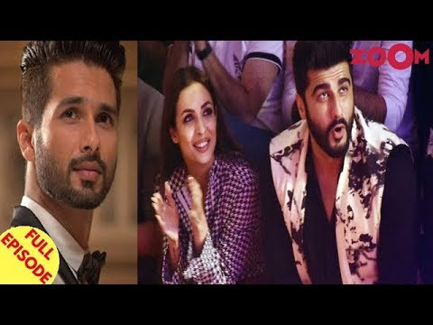 Shahid Kapoor to focus on Kabir Singh | Arjun Kapoor turns protective for Malaika Arora & more