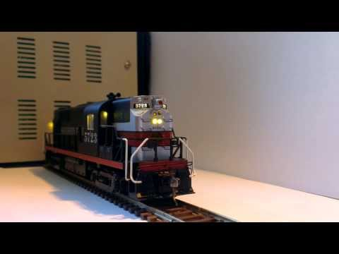 HO ALCO RS-11 Southern Pacific lights