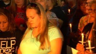 Raw: Vigil Held For Slain TV Station Employees