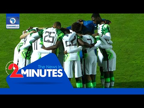 Recap: Nigeria Qualify For Africa Cup Of Nations After Rivals Draw