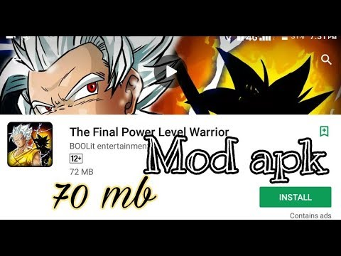 the final power level warrior 2 mod apk android 1