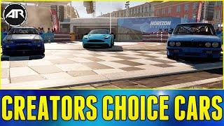 Forza Horizon 2 Online : CREATORS CHOICE CARS!!!