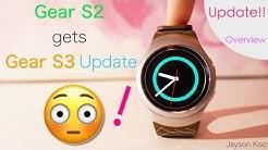 Samsung Gear S2 gets Gear S3 Update!! [60FPS]
