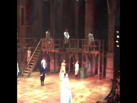 Lin-Manuel Miranda's final curtain call with the Hamilton OBC Richard Rodgers Theatre