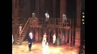 Lin-Manuel Miranda's final curtain call with the Hamilton OBC Richard Rodgers Theatre