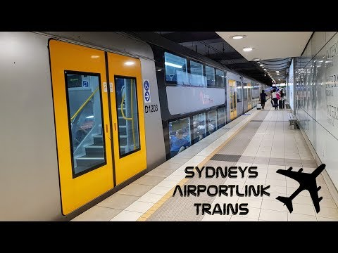 Sydney Trains Vlog 1506: Sydney's AirportLink Trains