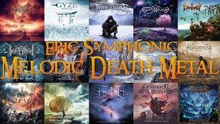 Epic Symphonic / Melodic Death Metal Compilation | 40 Bands